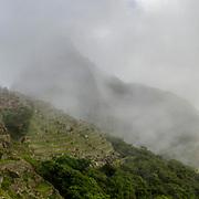 Panorama Machu Picchu Morning (Format 3 x 1)