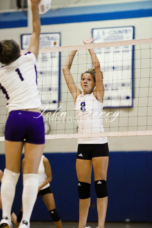 MCHS Varsity Volleyball .vs Strasburg.9/25/2008