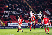 {persons}, C5Charlton Athletic defender Patrick Bauer (5), C8Charlton Athletic midfielder Andrew Crofts (8), M17Millwall defender Byron Webster (17)  during the EFL Sky Bet League 1 match between Charlton Athletic and Millwall at The Valley, London, England on 14 January 2017. Photo by Sebastian Frej.