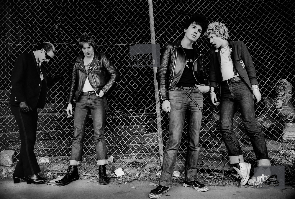 The Damned photosession police raid