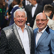 London,England,UK : 15 June 2016 : Actor Christopher Biggins attend the Disney's Aladdin Opening Night at the Prince Edward Theatre on Old Compton Street, Soho, London. Photo by See Li