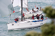 Nirvana and Promise. The start of the Coastal Classic, Auckland to Russel race. 23/10/2015