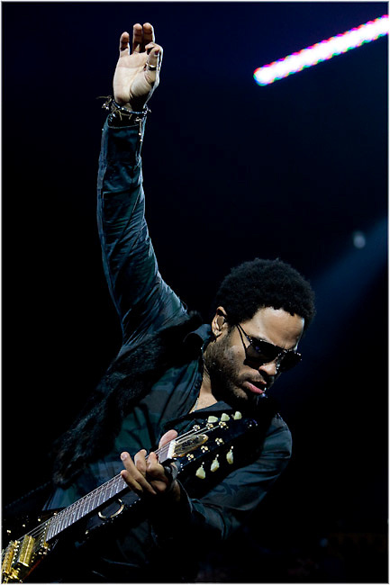 Lenny Kravitz performs at Montreal's Bell Center. PHOTO BY TIM SNOW