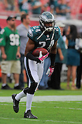 Philadelphia Eagles cornerback Bradley Fletcher (24) during the Eagles 31-20 win over the Tampa Bay Buccaneers on Oct. 13, 2013 in Tampa, Florida. <br /> <br /> ©2013 Scott A. Miller