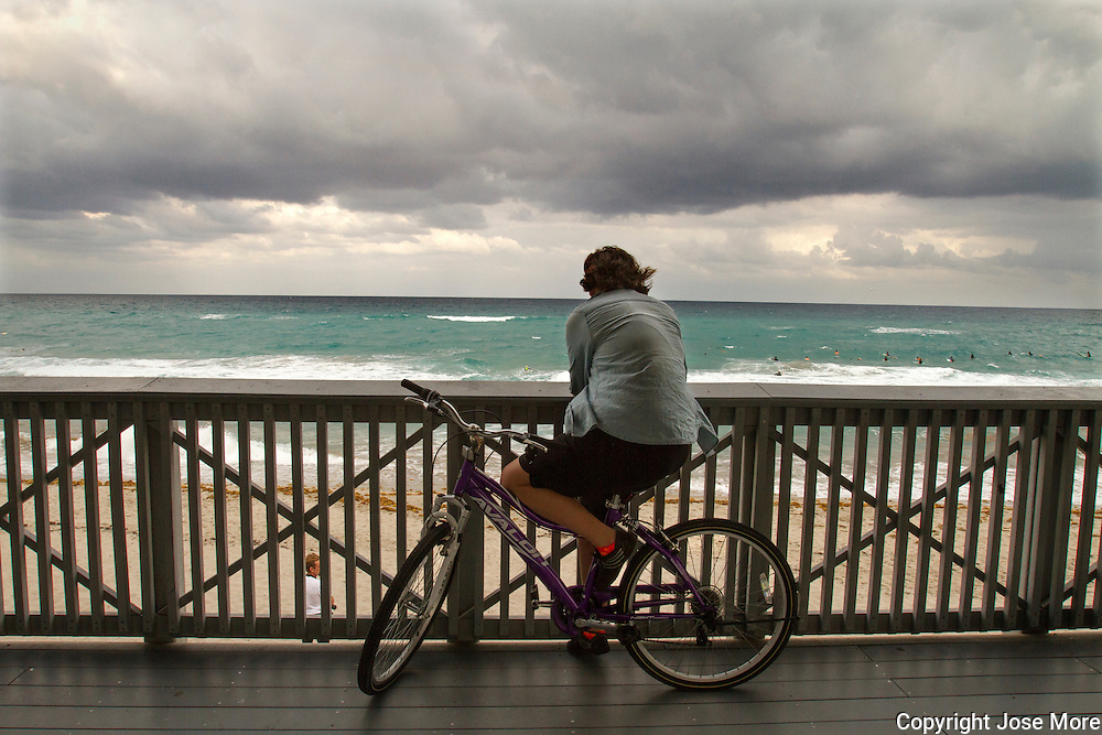 Surfing South Florida style.<br /> Photography by Jose More