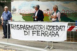AZZERATI CARIFE<br /> UDIENZA PROCESSO CARIFE CASSA RISPARMIO DI FERRARA A PONTELAGOSCURO