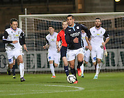 Dundee's Luka Tankulic races away from a crowd of Inverness players  - Dundee v Inverness Caledonian Thistle, SPFL Premiership at Dens Park <br /> <br />  - &copy; David Young - www.davidyoungphoto.co.uk - email: davidyoungphoto@gmail.com