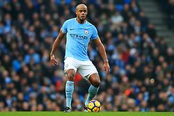 Vincent Kompany of Manchester City - Mandatory by-line: Matt McNulty/JMP - 23/12/2017 - FOOTBALL - Etihad Stadium - Manchester, England - Manchester City v Bournemouth - Premier League