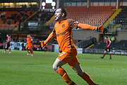 Paul McMullan of Dundee United celebrates after scoring the opening goal - Dundee United v Dumbarton in the SPFL Championship at Tannadice, Dundee<br /> <br />  - &copy; David Young - www.davidyoungphoto.co.uk - email: davidyoungphoto@gmail.com