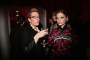 Kate Halfpenny and Emilia Fox ,  Whitechapel and Hogan present Art Pls Drama Party 2007. Whitechapel Gallery. London. 8 March 2007. -DO NOT ARCHIVE-© Copyright Photograph by Dafydd Jones. 248 Clapham Rd. London SW9 0PZ. Tel 0207 820 0771. www.dafjones.com.