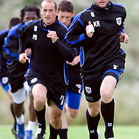 St Johnstone Training...15.08.08<br /> Kevin Rutkiewicz<br /> Picture by Graeme Hart.<br /> Copyright Perthshire Picture Agency<br /> Tel: 01738 623350  Mobile: 07990 594431