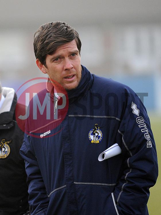 Bristol Rovers Manager, Darrell Clarke - Photo mandatory by-line: Neil Brookman/JMP - Mobile: 07966 386802 - 04/01/2015 - SPORT - football - Nuneaton - James Parnell Stadium - Nuneaton Town v Bristol Rovers - Vanarama Conference