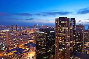 San Diego Skyline View