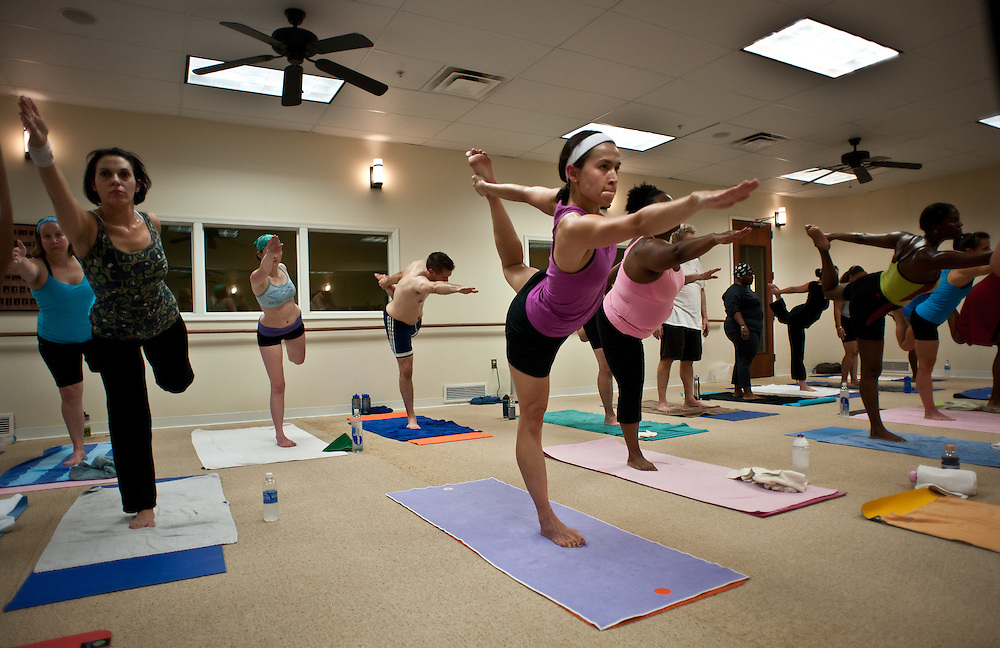 COLUMBIA, MD -- 11/12/11 -Fourth Anniversary Open House at BYC. Classes, Wellness, fun.…by André Chung #AC2_3164