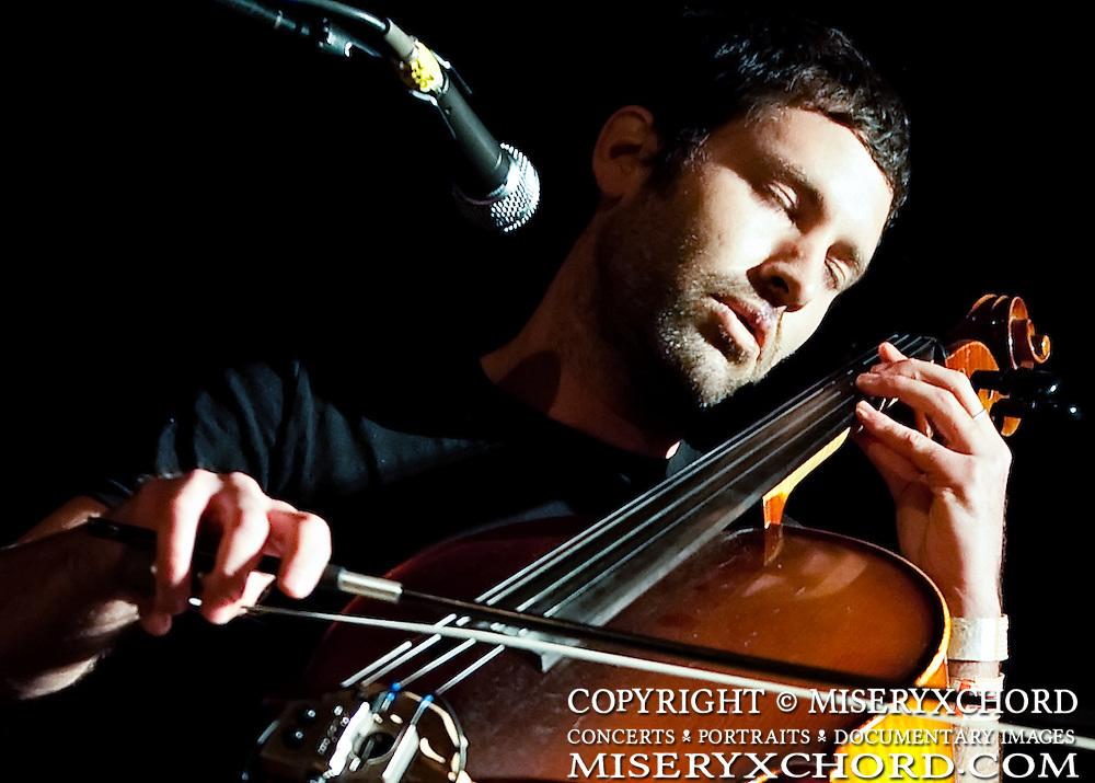 Luke Janela performs at the Catalyst Club in Santa Cruz, California USA on January 28, 2010.