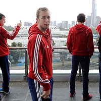 MELBOURNE - Champions Trophy men 2012<br /> England on a tour of the MCG<br /> FFU PRESS AGENCY COPYRIGHT FRANK UIJLENBROEK