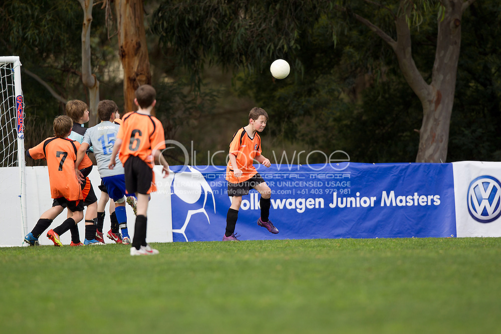 Mornington Soccer Club VS Spring Hills FC. Volkswagen Junior Masters Australia. Eastern Lions Soccer Club, Melbourne, Victoria, Australia. 08/07/2012. Photo By Lucas Wroe/Winkipop Media