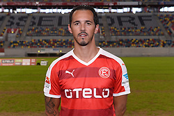 02.07.2015, Esprit Arena, Duesseldorf, GER, 2. FBL, Fortuna Duesseldorf, Fototermin, im Bild Sergio da Silva Pinto ( Fortuna Duesseldorf / Portrait ) // during the official Team and Portrait Photoshoot of German 2nd Bundesliga Club Fortuna Duesseldorf at the Esprit Arena in Duesseldorf, Germany on 2015/07/02. EXPA Pictures &copy; 2015, PhotoCredit: EXPA/ Eibner-Pressefoto/ Thienel<br /> <br /> *****ATTENTION - OUT of GER*****