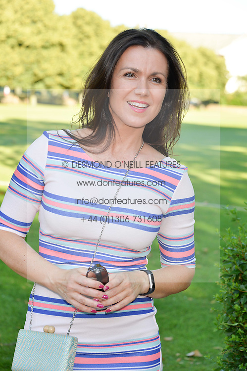 SUSANNA REID at the Frost Family Summer party in support of the British Heart Foundation and the Mile Frost Fund held at Burton Court, Chelsea, London  on 18th July 2016.