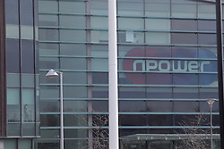 © Under licence to London News Pictures. 08/03/2016. The Npower offices in Houghton-le-Spring, County Durham, UK. The company has announced it will cut 2,400 jobs in the UK by 2008. March 8th Photo Credit: Stuart Boulton/LNP