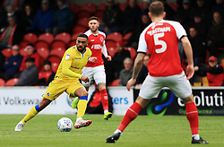 Tareiq Holmes-Dennis of Bristol Rovers - Mandatory by-line: Matt McNulty/JMP - 27/04/2019 - FOOTBALL - Highbury Stadium - Fleetwood, England - Fleetwood Town v Bristol Rovers - Sky Bet League One