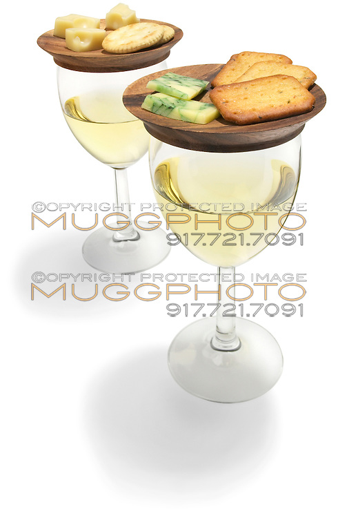 tapas plates with wine