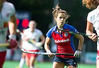 BILTHOVEN - Renske Siersema van SCHC , zondag tijdens de hoofdklasse competitiewedstrijd tussen de vrouwen van SCHC en MOP (5-0). COPYRIGHT KOEN SUYK