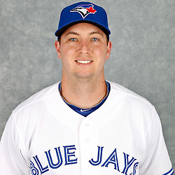 March 2, 2012; Dunedin, FL, USA; Toronto Blue Jays first baseman David Cooper (30) poses for a portrait during photo day at Florida Auto Exchange Stadium.  Mandatory Credit: Derick E. Hingle-US PRESSWIRE