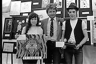 Ashley Jackson presents the prizes. 1983 Yorkshire Miner's Gala. Barnsley