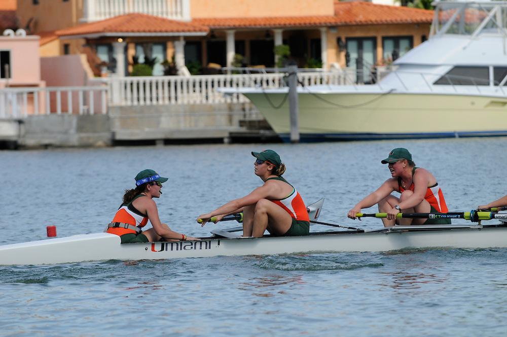 2013 Miami Hurricanes Rowing