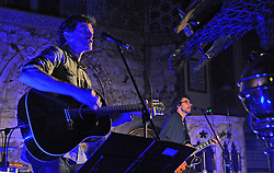 Steve and Joe Wall of The Stunning performing at Holy Trinity Church at Westport Arts Festival 2017. <br />