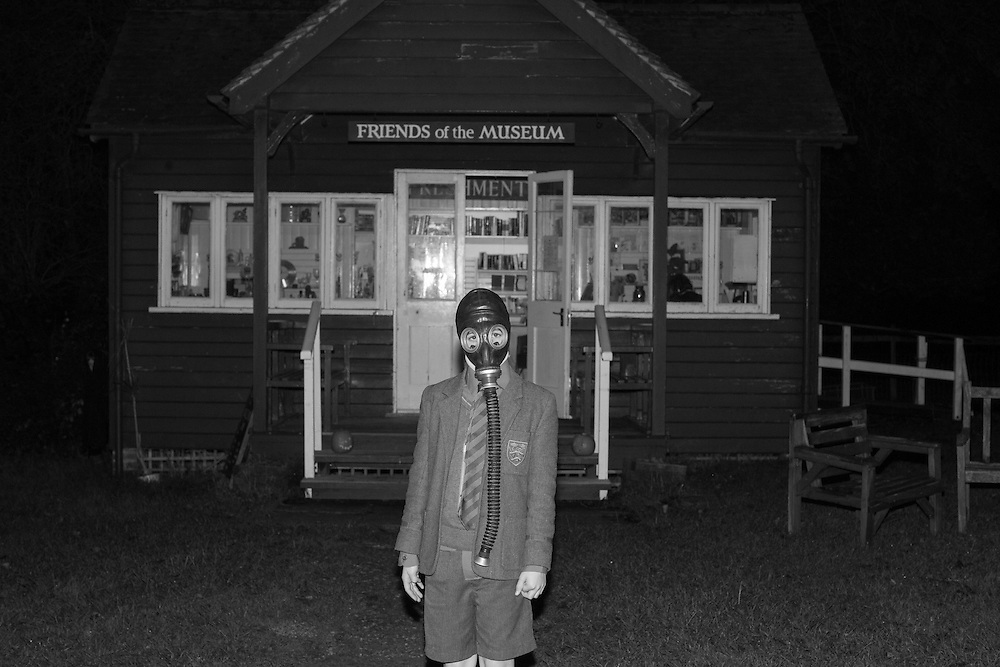 A boy dressed up for Halloween at the Open Air Chiltern Museum Little Chalfont, England Friday, Oct. 30, 2015 (Elizabeth Dalziel) #thesecretlifeofmothers #bringinguptheboys #dailylife