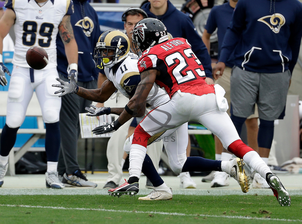 Los Angeles Rams wide receiver Tavon Austin (11) during the first half of an NFL football game against the Atlanta Falcons, Sunday, Dec. 11, 2016, in Los Angeles. (AP Photo/Rick Scuteri)