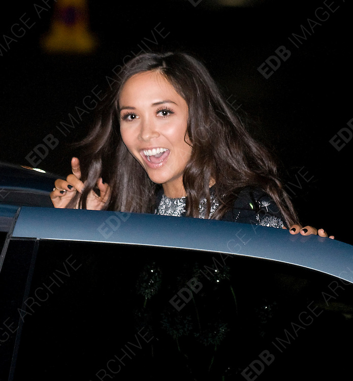19.DECEMBER.2011. LONDON<br /> <br /> MYLEENE KLASS AT THE SUN MILITARY AWARDS 2011 AT THE IMPERIAL WAR MUSEUM IN LONDON<br /> <br /> BYLINE: EDBIMAGEARCHIVE.COM<br /> <br /> *THIS IMAGE IS STRICTLY FOR UK NEWSPAPERS AND MAGAZINES ONLY*<br /> *FOR WORLD WIDE SALES AND WEB USE PLEASE CONTACT EDBIMAGEARCHIVE - 0208 954 5968*