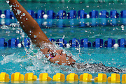Belo Horizonte_MG, Brasil...Copa do Mundo de Natacao 2007. Na foto Joana Maranhao, do Brasil, vencedora da prova 200m Costas...Swimming World Cup 2007. In this photo the swimmer Joana Maranhao, of Brazil, She is the champion in the 200m backstroke, in Belo Horizonte...Foto: LEO DRUMOND / NITRO