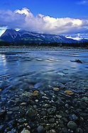 Kootenay River headwaters in Kootenay National Park, southeast British Columbia