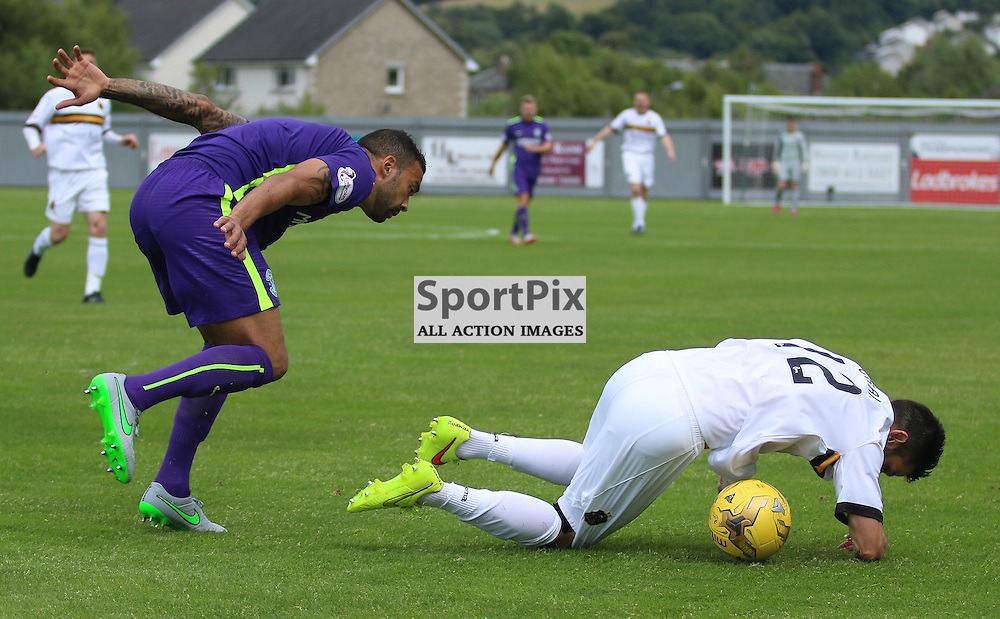 Steven Craig is brought down for sons foul<br /> <br /> <br /> <br /> <br /> <br /> <br /> (c) Andy Scott | SportPix.org.uk