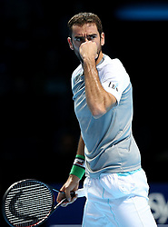 November 12, 2018 - Londres, GREAT BRITAIN, GREAT BRITAIN - Great Britain, London, The O2 Arena, Tennis, Nitto ATP Finals 2018 - DAY 2 - 12/11/2018...Croatia's Marin Cilic (CRO) pictured during his first round at Nitto ATP Finals 2018 in The O2 Arena, London (Credit Image: © Panoramic via ZUMA Press)