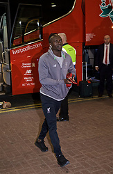 NEWCASTLE-UPON-TYNE, ENGLAND - Saturday, May 4, 2019: Liverpool's Sadio Mane arrives ahead of the FA Premier League match between Newcastle United FC and Liverpool FC at St. James' Park. (Pic by David Rawcliffe/Propaganda)
