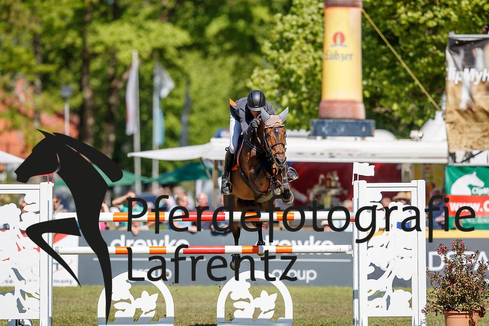 RÜPING Philip (GER), Chalypsa<br /> Redefin - Pferdefestival 2018<br /> Finale Mittlere Tour<br /> 06. Mai 2018<br /> www.sportfotos-lafrentz.de/Stefan Lafrentz