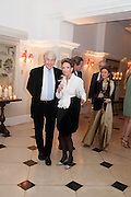 MR. AND MRS. MARTIN SUMMERS, The Cartier Chelsea Flower show dinner. Hurlingham club, London. 20 May 2013.