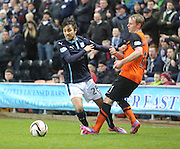 Dylan Carreiro and Gary Mackay-Steven - Dundee United v Dundee, SPFL Premiership at Tannadice<br /> <br />  - &copy; David Young - www.davidyoungphoto.co.uk - email: davidyoungphoto@gmail.com