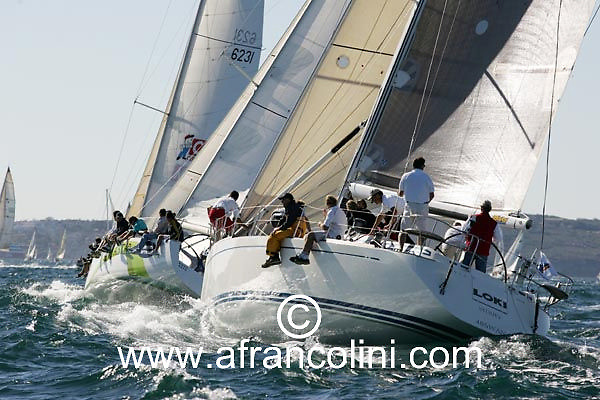 SAILING - BMW Winter Series 2004/ Sydney  (AUS) - ESTATE MASTER, LOKI - 4/07/04 - Photo: Andrea Francolini