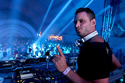 DJ Double S no palco e-Planet do Planeta Atlântida 2015, que acontece nos dias 30 e 31 de Janeiro de 2015, na Saba, em Atlântida. FOTO: Marcos Nagelstein/ Agência Preview