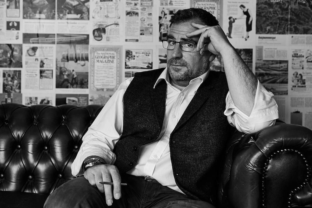 Peter Howard of PHD Design at his studio