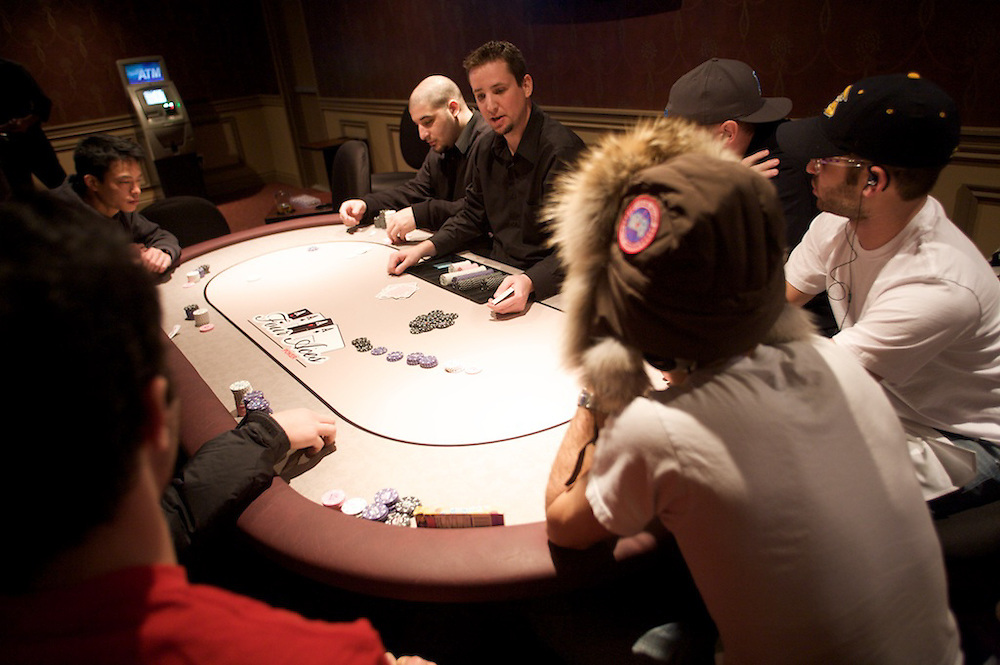The Bronfman Israel Experience Centre hosts a charity Poker Tournament at Four Aces Poker lounge on December 20th, 2009.