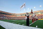 AUSTIN, TX - AUGUST 31: A general view from inside Darrell K Royal - Texas Memorial Stadium before kickoff between the Texas Longhorns and the New Mexico State Aggies on August 31, 2013 in Austin, Texas.  (Photo by Cooper Neill/Getty Images) *** Local Caption ***