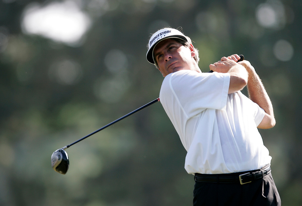 PINEHURST, NORTH CAROLINA - JUNE 15, 2005<br /> Fred COUPLES during the Wednesday practice round of the 2005 U.S. Open Championship, held at Pinehurst No.2 in the Village of Pinehurst, North Carolina.