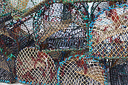 Crab pots on Aran Islands, Kilronan, Ireland.