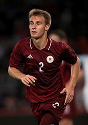 Latvia's Vladislavs Sorokins